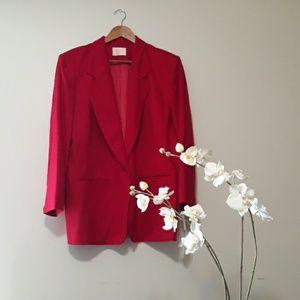 Pendleton  Virgin Wool Red Blazer